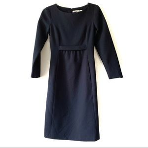 Cose Belle Navy Blue Quilted Structured Dress XS/S